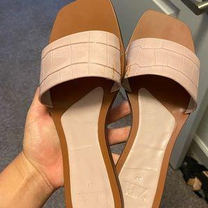 Zara women slides